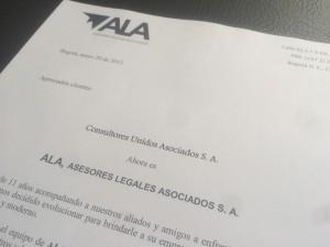 ¡Ahora somos ALA, Asesores Legales Asociados!